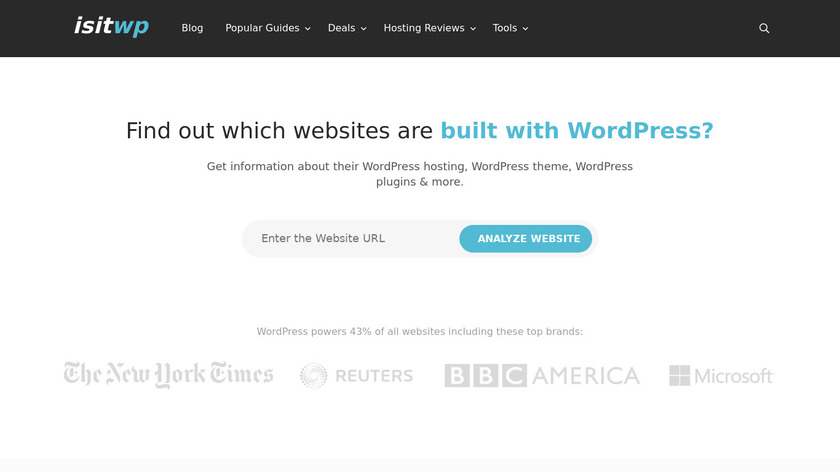 IsItWP Landing Page