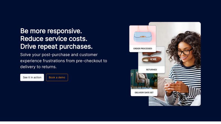 parcelLab Landing Page