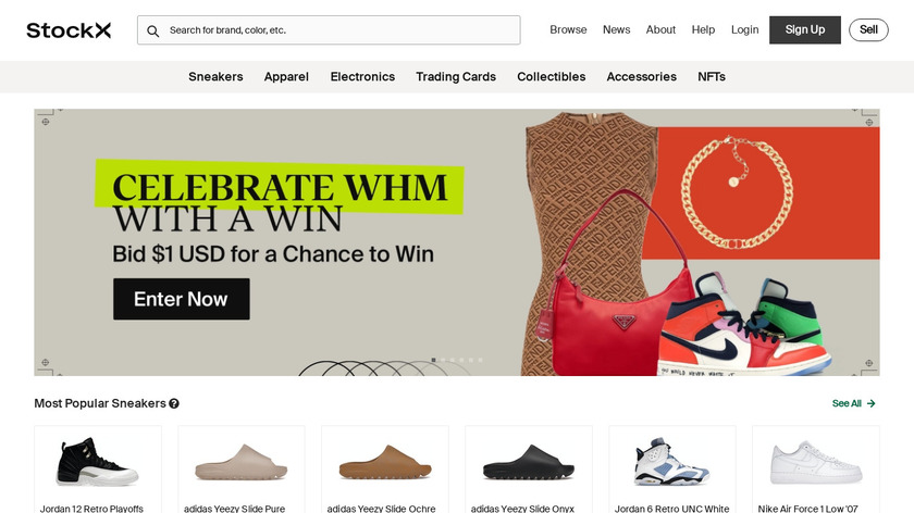 StockX Landing Page