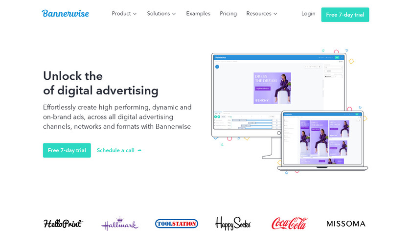 Bannerwise Landing Page