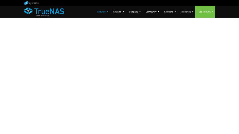 FreeNAS Landing Page