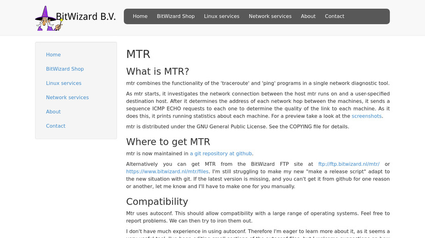 mtr Landing Page