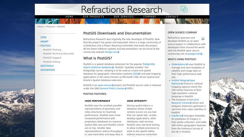 PostGIS Landing Page