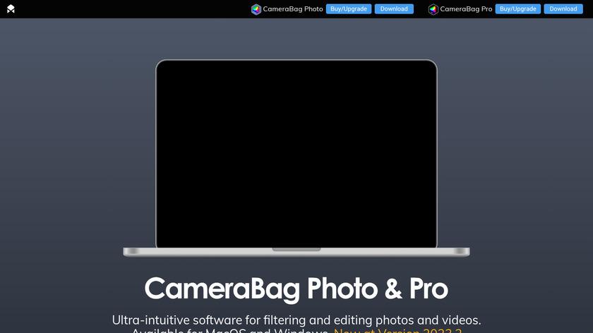 CameraBag Photo Landing Page