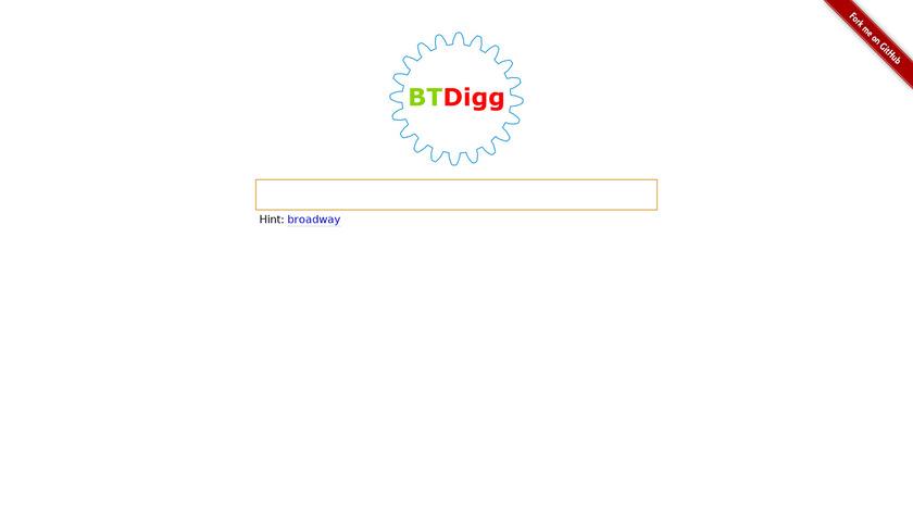 BTDigg Landing Page