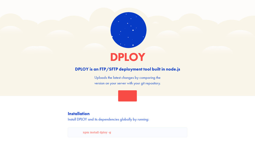 DPLOY Landing Page
