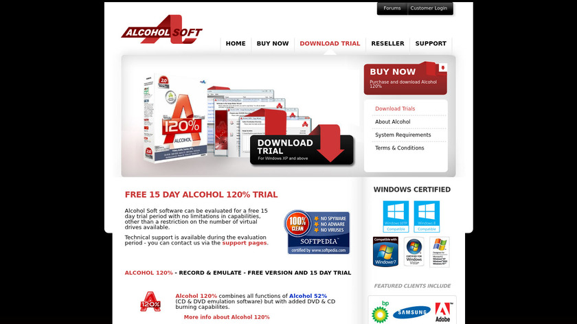 Alcohol Landing Page