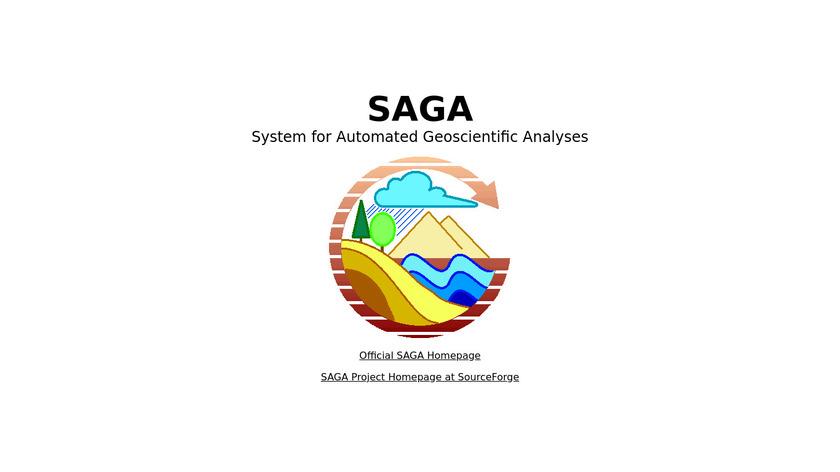 SAGA GIS Landing Page