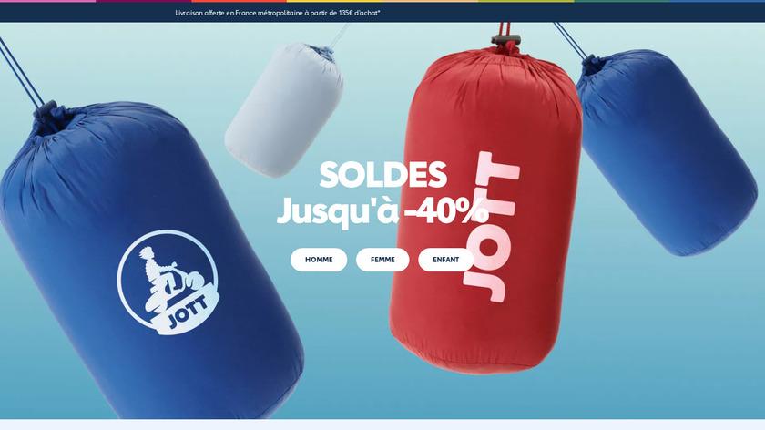 Jott Messenger Landing Page