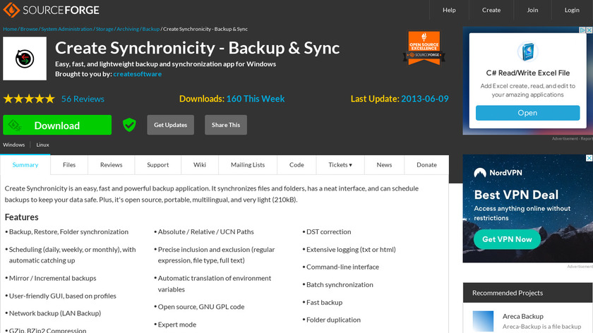 Create Synchronicity Landing Page