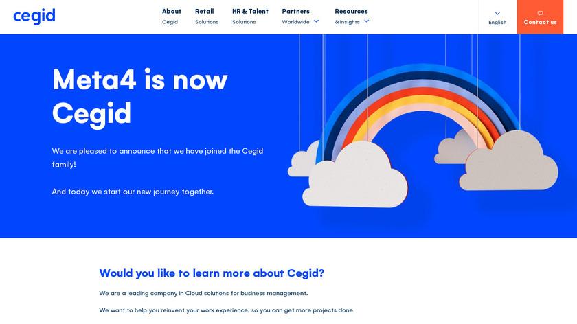 Meta 4 Landing Page