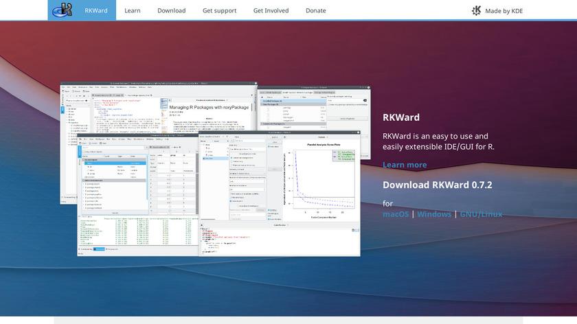 RKWard Landing Page