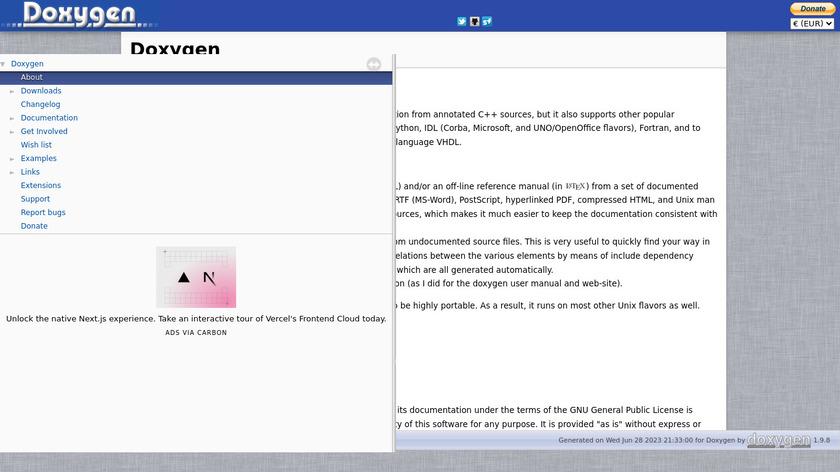 Doxygen Landing Page