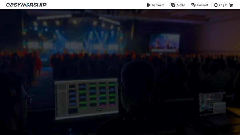 EasyWorship Landing Page