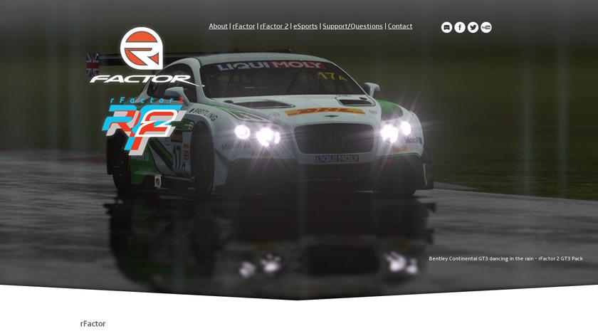 rFactor Landing Page