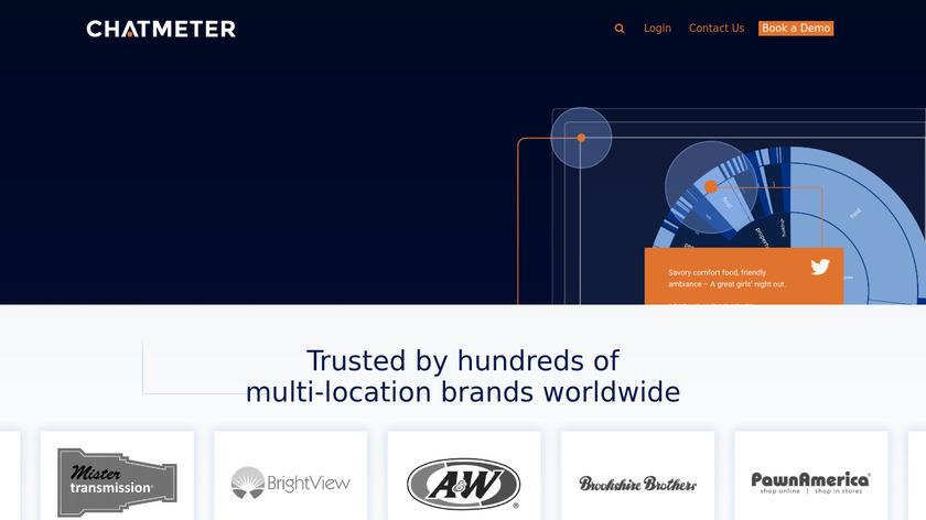 Chatmeter Landing Page