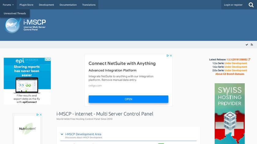 i-MSCP Landing Page
