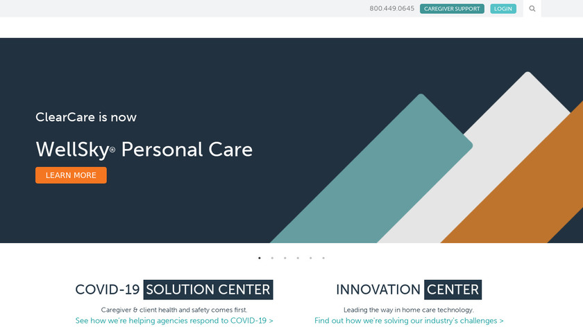 ClearCare Landing Page