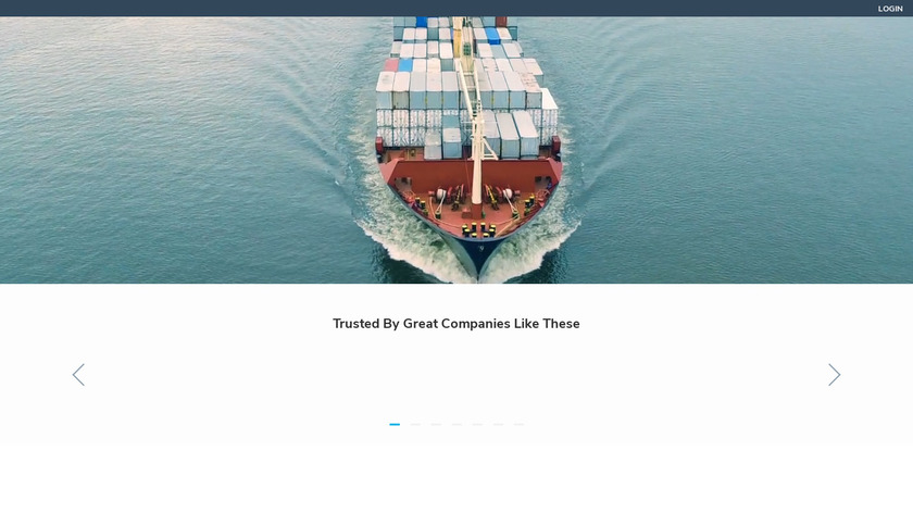 FreightPOP Landing Page
