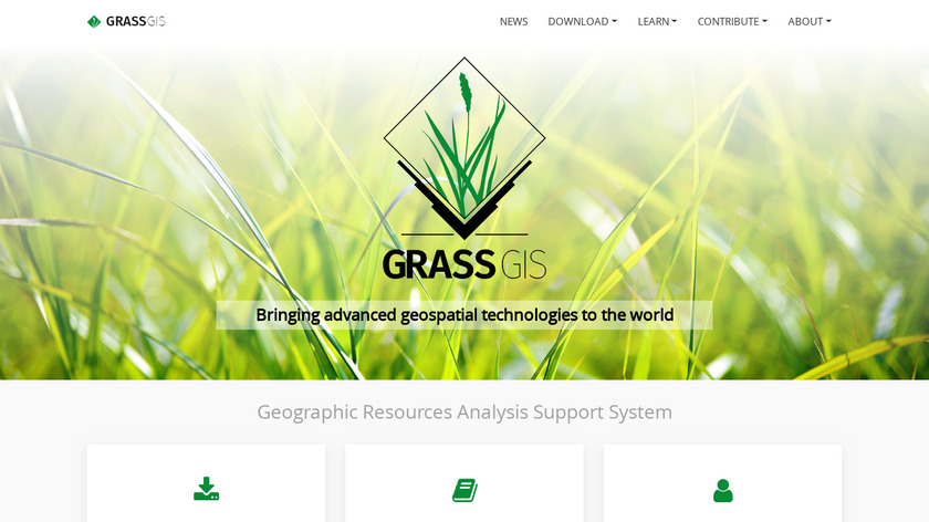 GRASS GIS Landing Page