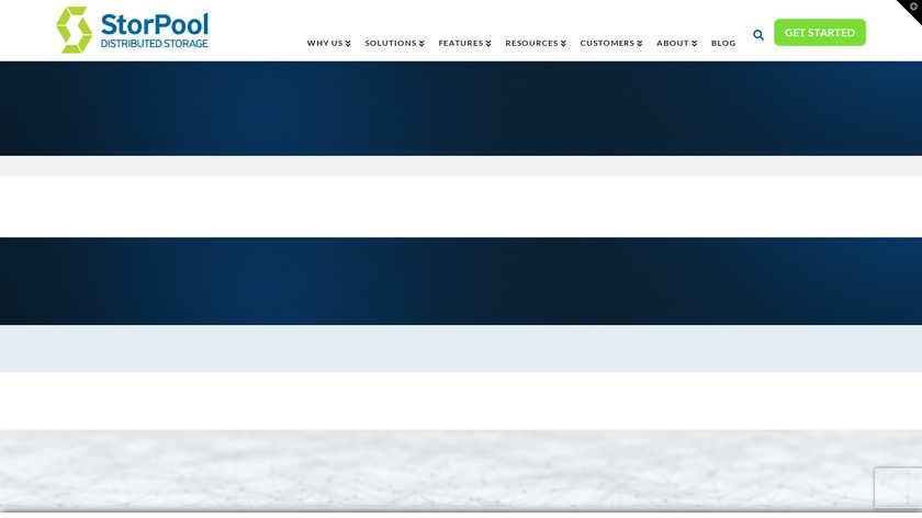 StorPool Landing Page