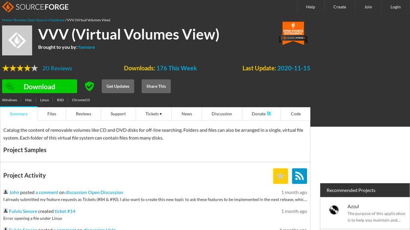 Virtual Volumes View Landing Page
