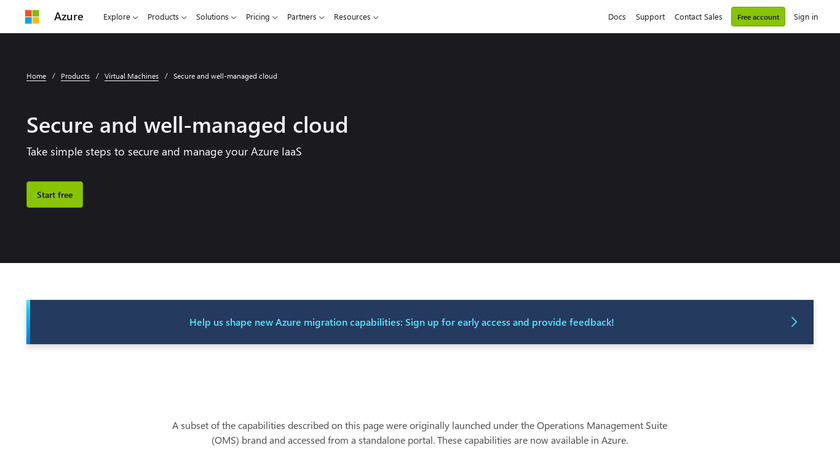 Microsoft Operations Management Suite Landing Page