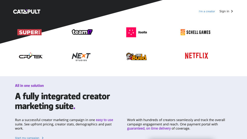 Indie Boost Landing Page
