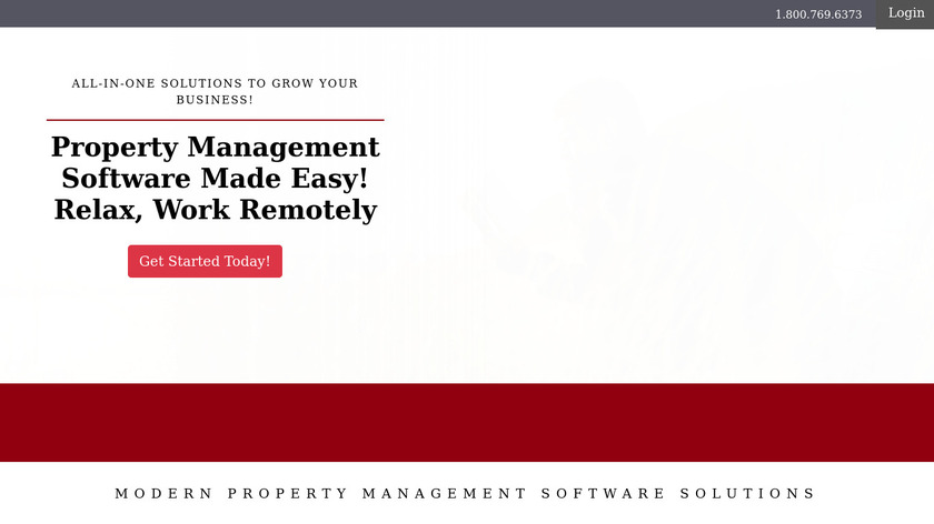 LandlordTracks Landing Page
