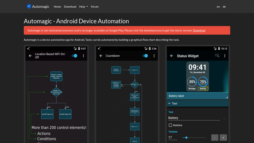 Automagic Premium Landing Page