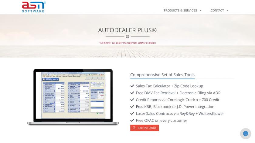 AutoDealer Plus Landing Page