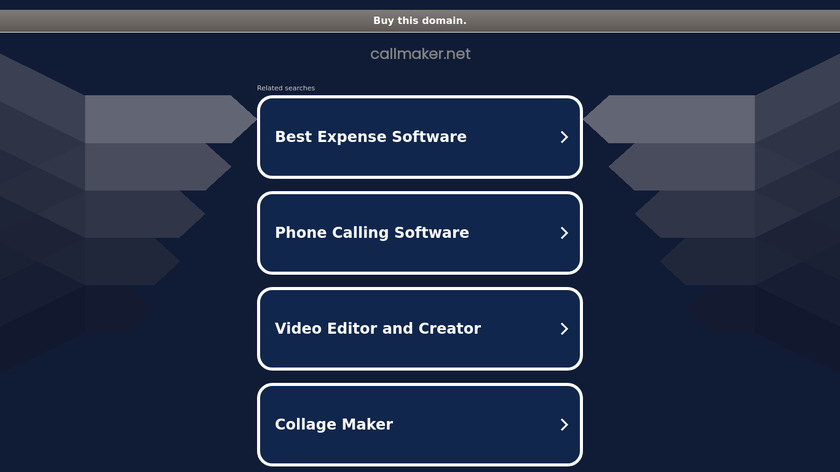 Callmaker Landing Page