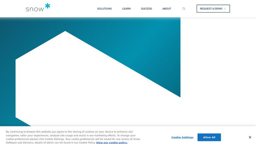 SnowSoftware Landing Page