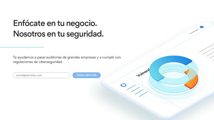 Hackmetrix Landing Page