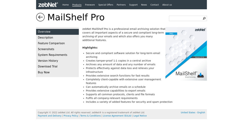 MailShelf Pro Landing Page