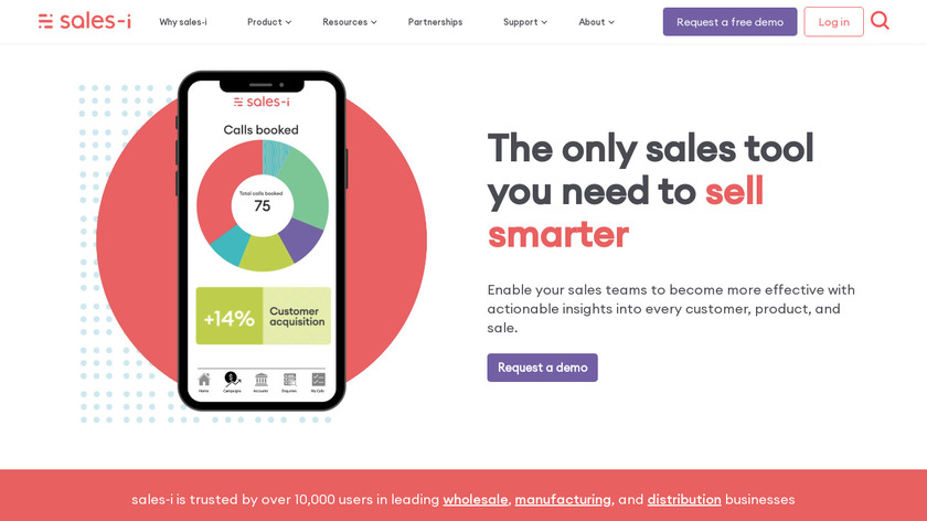 sales-i Landing Page