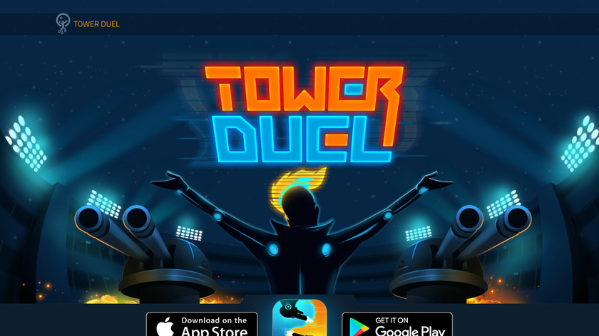 Tower Duel Landing Page