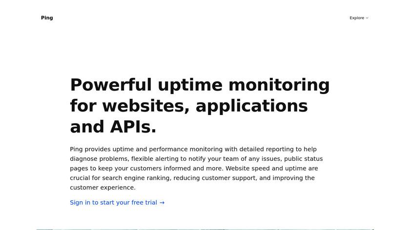 Apex Ping Landing Page