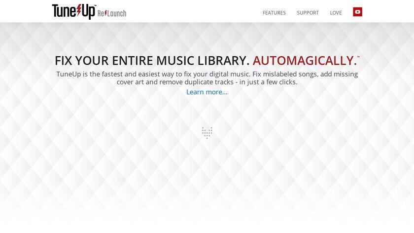 TuneUp Landing Page