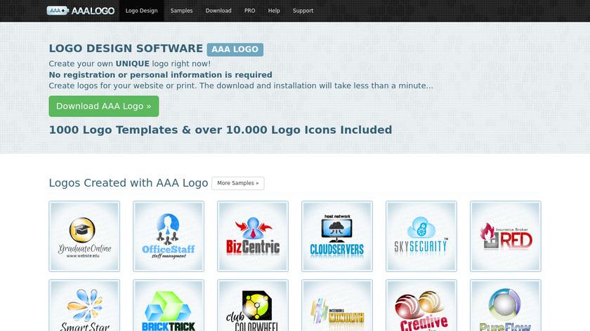 AAA Logo Landing Page