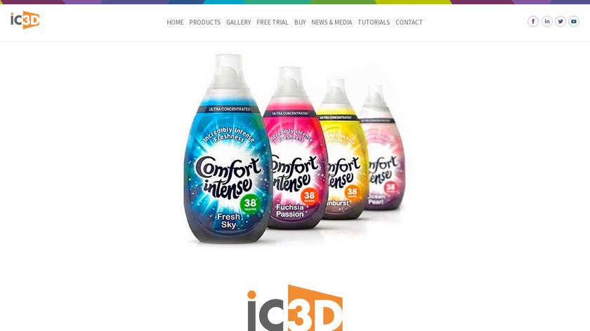 IC3D Suite Landing Page