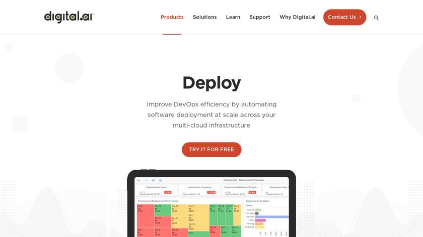 XL Deploy Landing Page