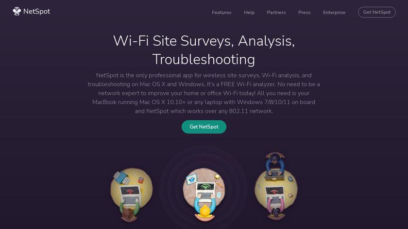 NetSpot Landing Page