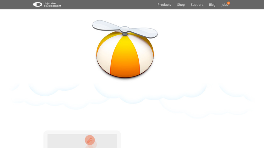 Little Snitch Landing Page