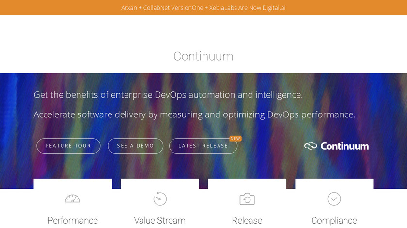 DevOps lifecycle Manager Landing Page