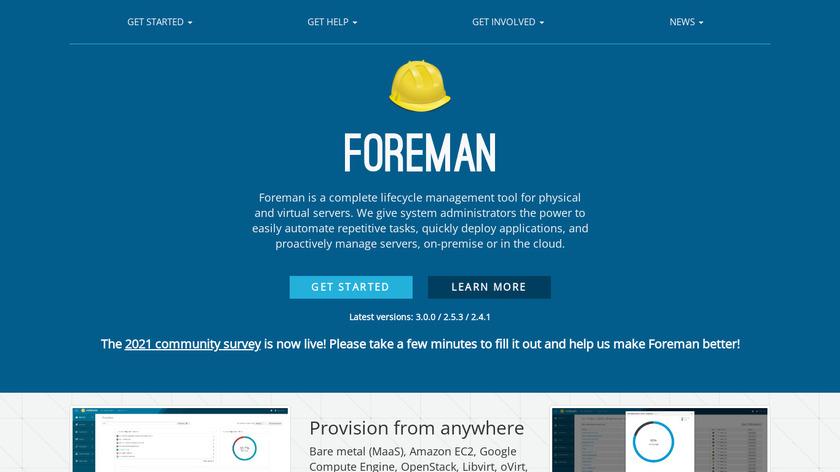 Foreman Landing Page