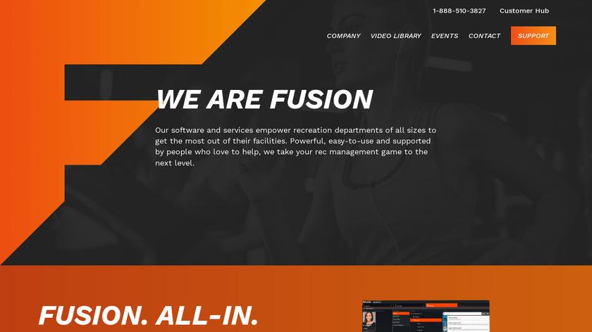 InnoSoft Fusion Landing Page