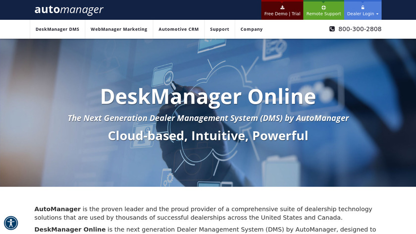 DeskManager Landing Page