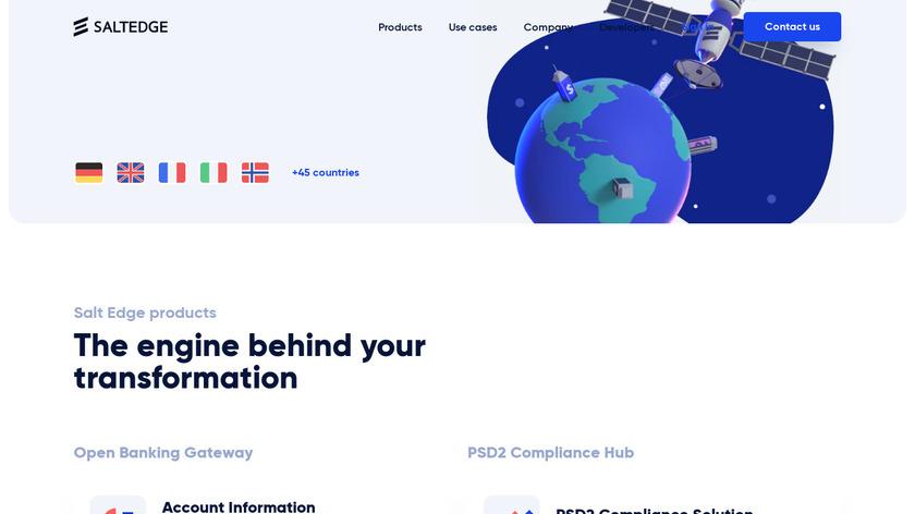 InEx Finance Landing Page