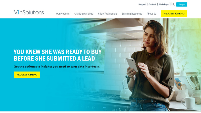 VinSolutions Landing Page